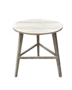 Cricket Table White Wash