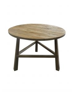 Round Occasional Table Low