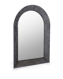Arched  Metal Mirror