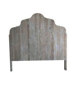 Wooden Bedhead Grey