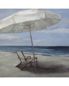 Deck Chair w Umbrella Paint M1 (DUE MID JULY)