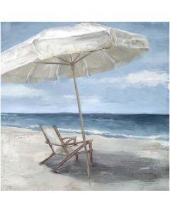 Deck Chair w Umbrella Paint M1