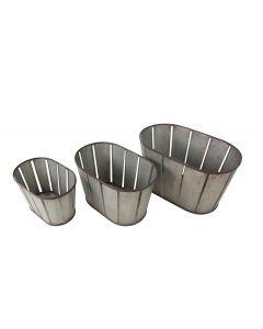 Metal Fruit Basket Set3 M1
